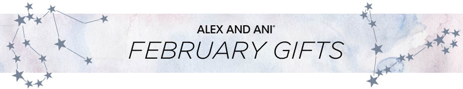 Alex and Ani February Gifts