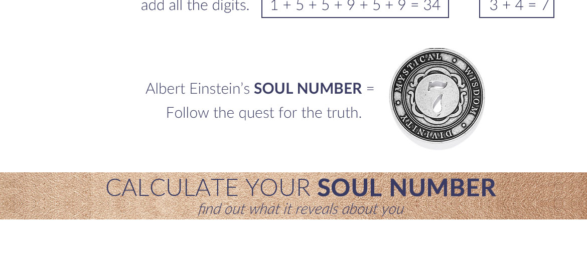 Alex and Ani Soul Number Calculator