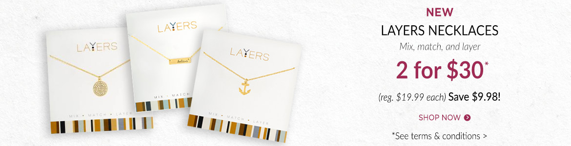 Layers necklaces 2 for $30*