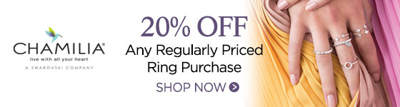 Chamilia 20% off Rings