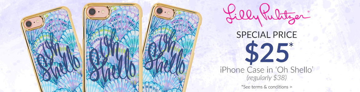 Lilly Pulitzer Oh Shello Special Price*