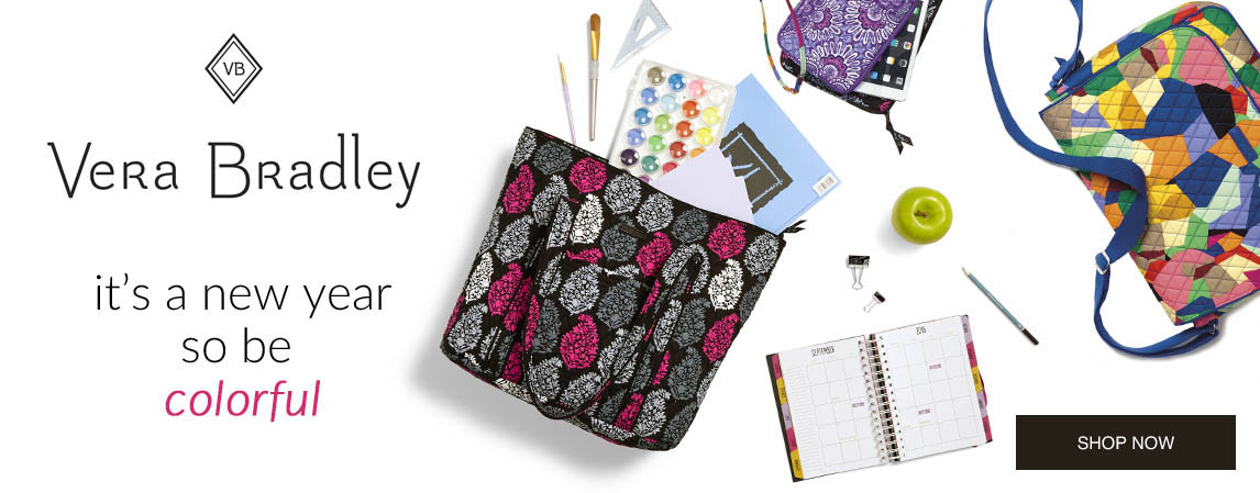 Back to School with Vera Bradley