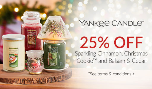 Yankee Candle - 25% off Fragrances of the Month*