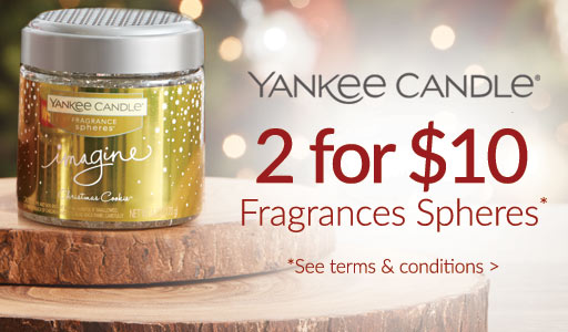 Yankee Candle - 2 for $10 fragrance spheres*