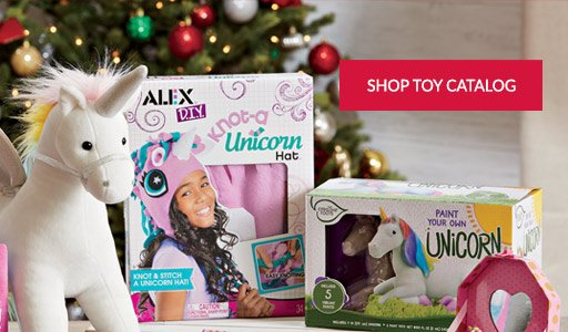 Shop the Holiday Toy Catalog