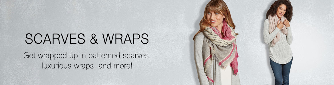 Shop Scarves and Wraps at The Paper Store