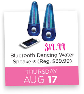 Bluetooth Dancing Water Speakers Special Price $19.99