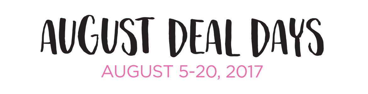 Back To School August Deal Days