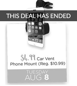 Car Vent Phone Mount Special Price $4.99