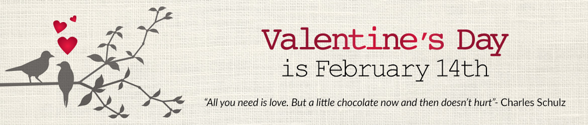 Valentine's Day Footer