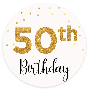 Birthday Milestone 50
