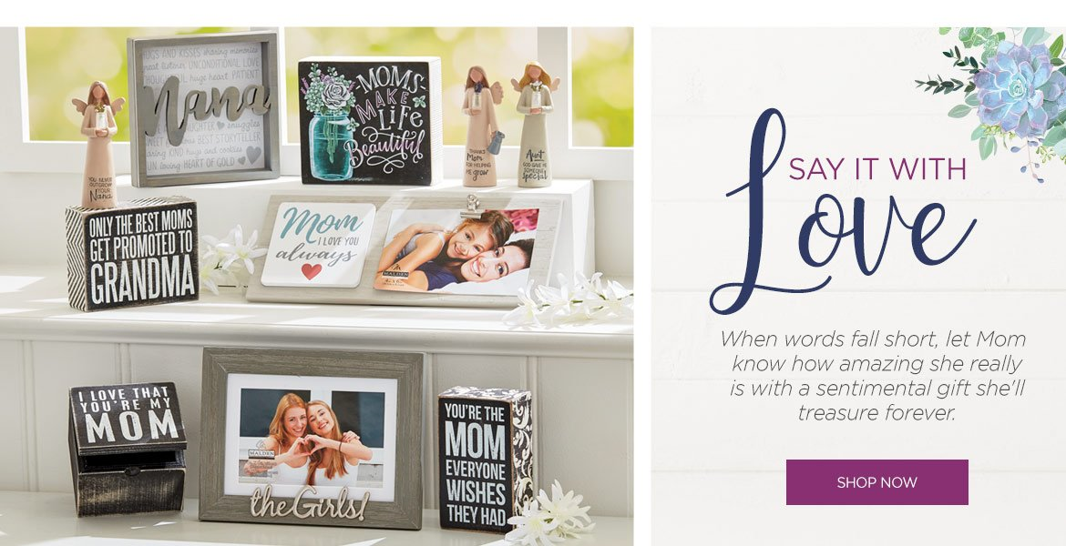 Mother's Day Sentimental Decor Gifts