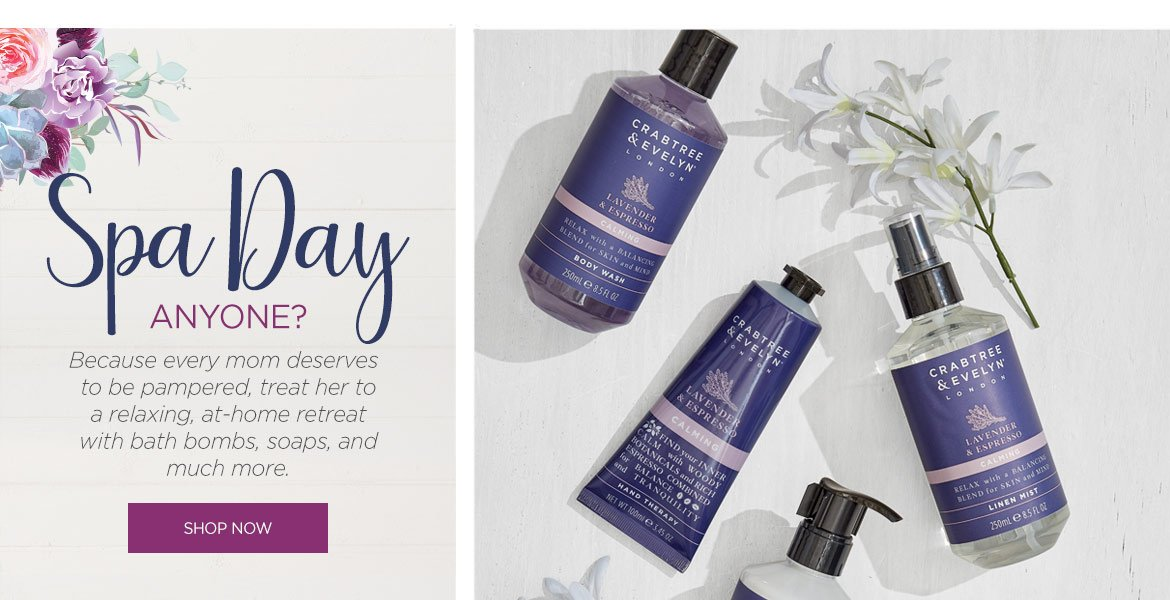 Mother's Day Spa Gifts to Pamper Her