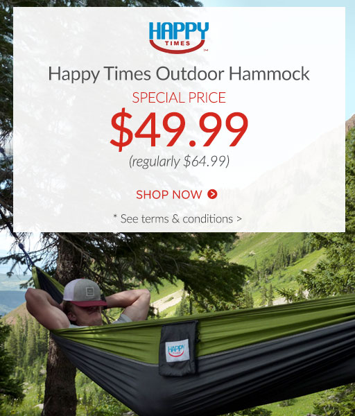 Happy Times Hammock now $49.99*