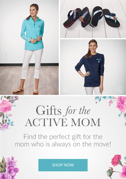 Shop gifts for active mom