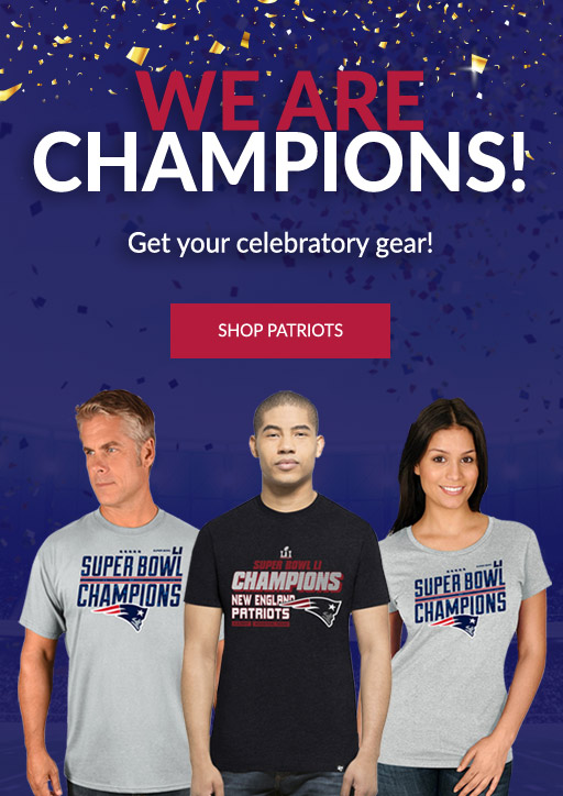 Shop New England Patriots Super Bowl Champions Shirts