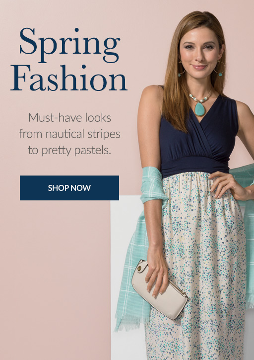 Shop the Spring Fashion catalog