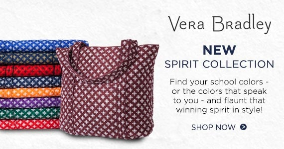 Shop Vera Bradley Spirit Collection