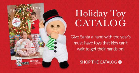 Shop our Holiday Toy Catalog