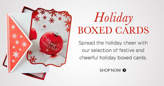 Shop Holiday Boxed Cards