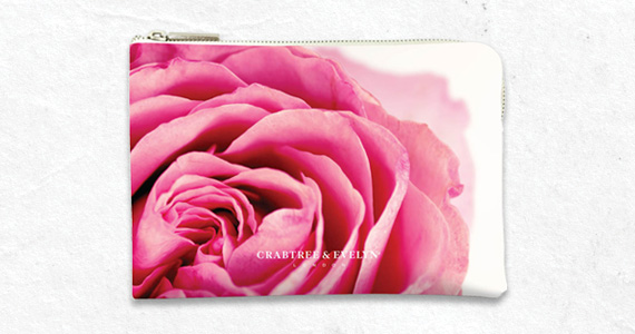 Shop FREE Rose makeup bag with $40 purchase