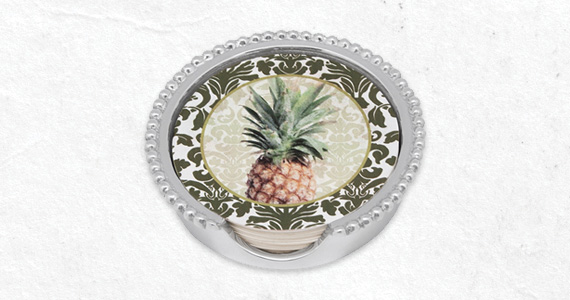 Shop Mariposa FREE pineapple beaded coaster with $50 purchase