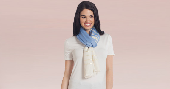 Shop Noelle Shimmer Scarf Special Price $9.99