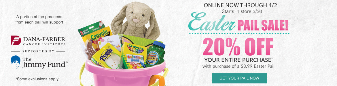 Easter Pail Sale Event