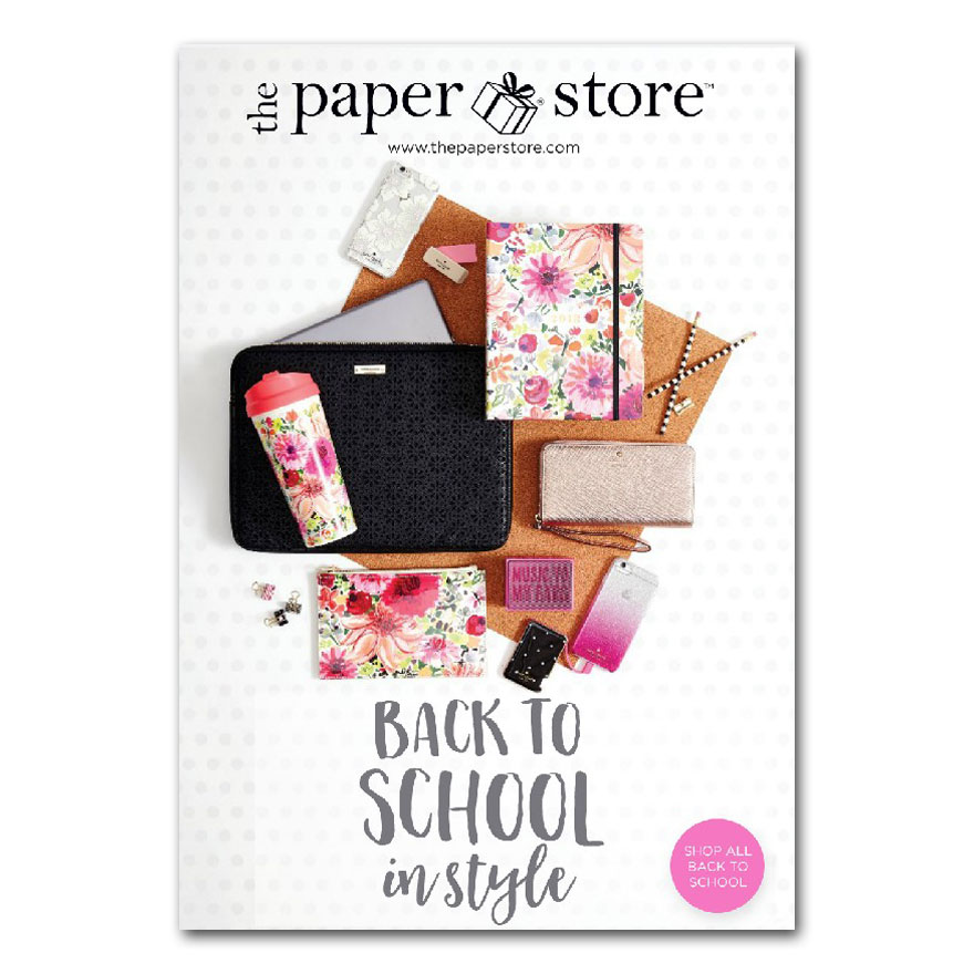 The Paper Store 2017 Back To School Mailer