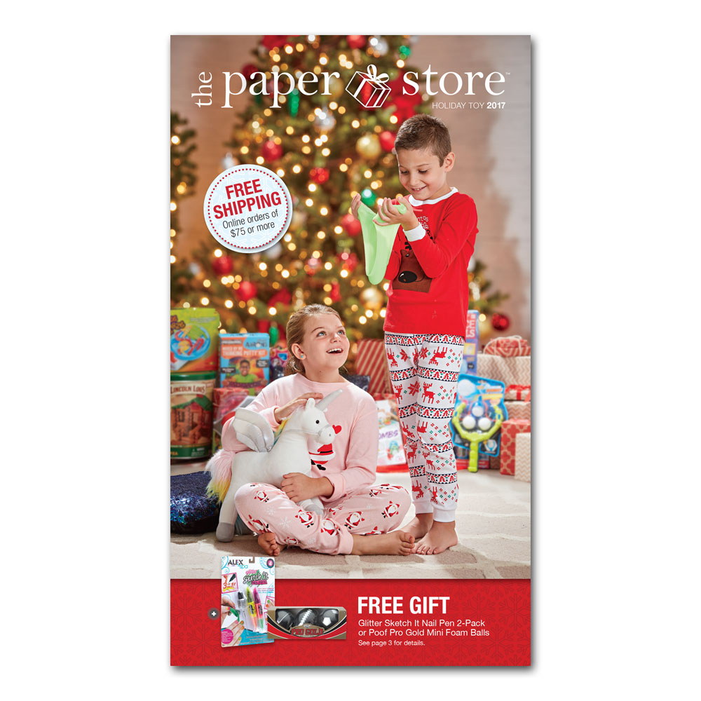 The Paper Store 2017 Holiday Toy Catalog