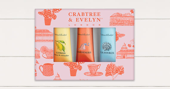 Crabtree & Evelyn promo