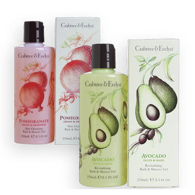 Crabtree and Evelyn Buy 1, Get 1 50% off Bath Gel, Shower Gel or Body Wash