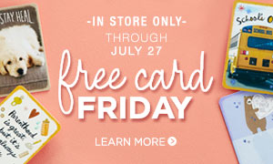 Store Locations Near Me FREE Card Friday
