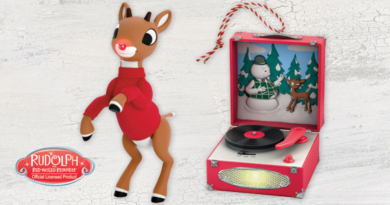 Toys for Tots Rudolph Ornament
