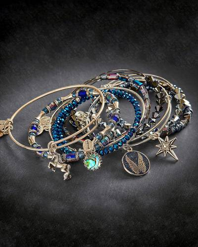 Starry Night Bangle Stack