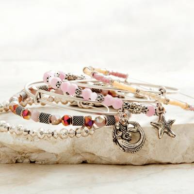 Stars of the Sea Bangle Stack