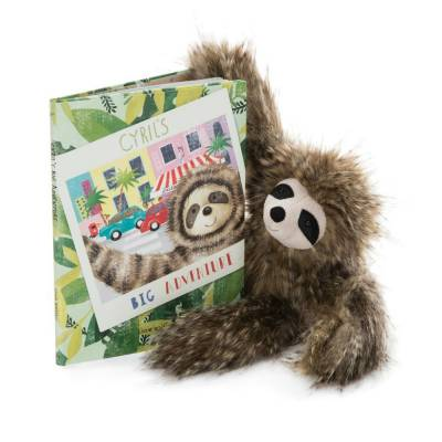 Cyril's Big Adventure Book & Plush