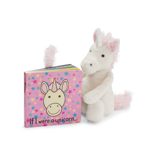 Jellycat If I Were a Unicorn Book & Plush