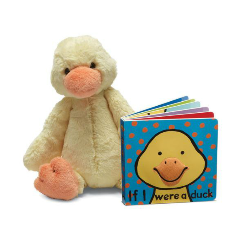 Jellycat If I Were a Duck Book & Plush