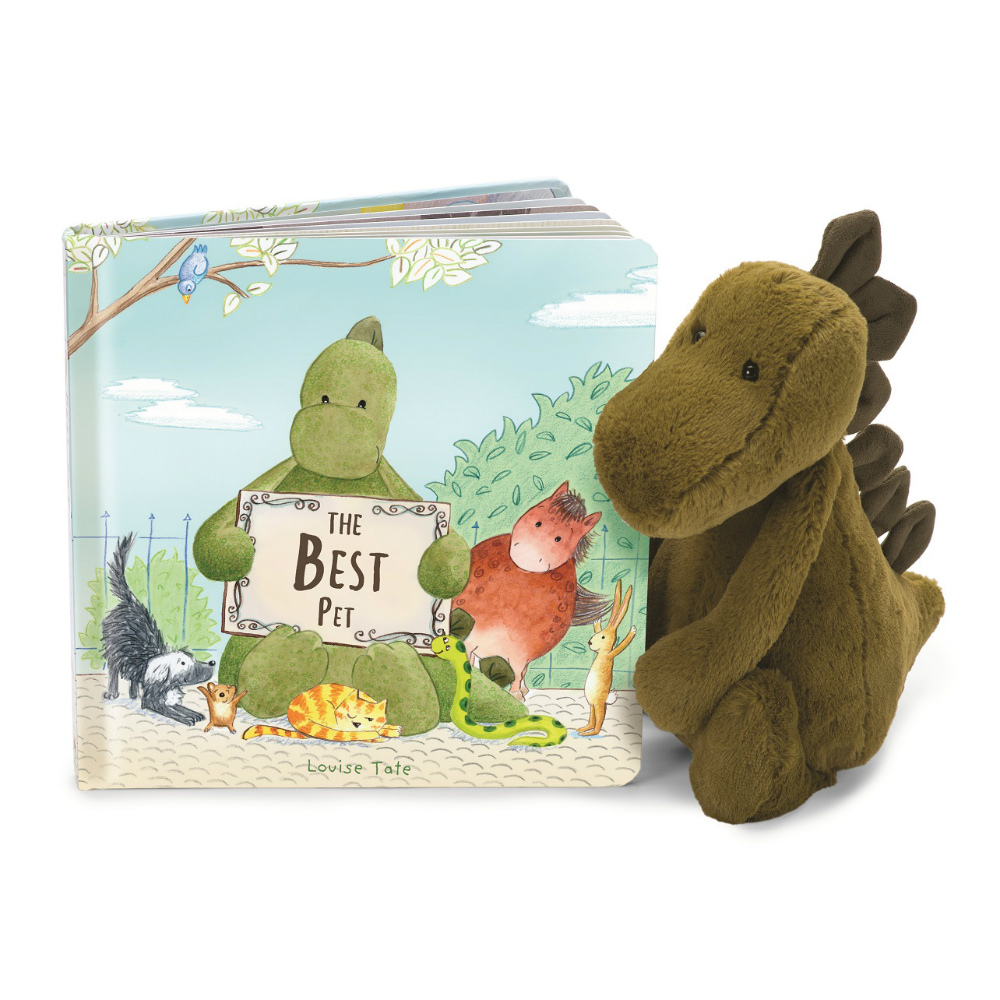 Jellycat The Best Pet Book & Plush