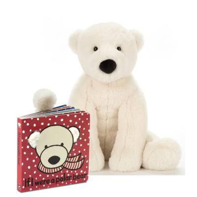 If I Were a Polar Bear Book & Plush