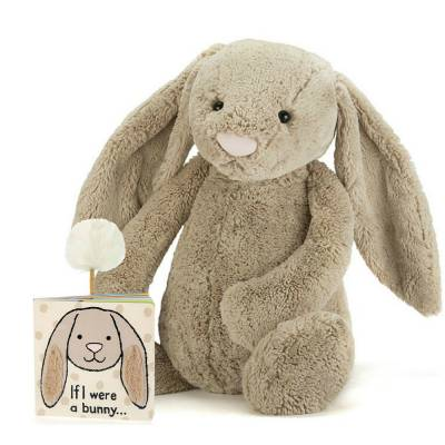 If I Were a Bunny Book & Plush (Huge)