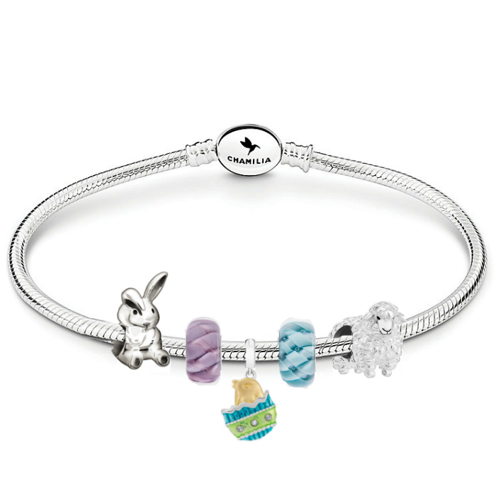 Chamilia Happy Easter Oval Snap Bracelet