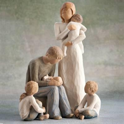 Parents with 4 children