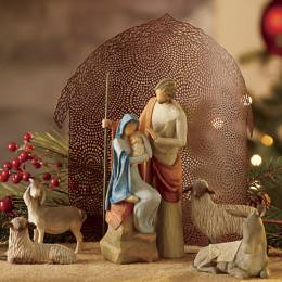 Willow Tree Holy Family Nativity