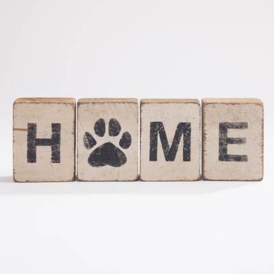 HOME Reclaimed Wood Block Bundle