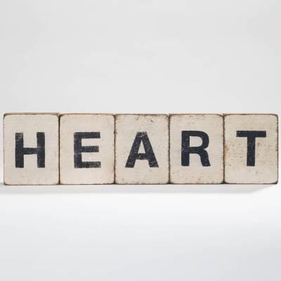 Heart Reclaimed Wood Block Bundle