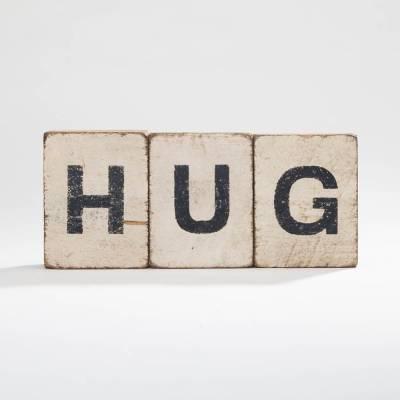 Hug Reclaimed Wood Block Bundle